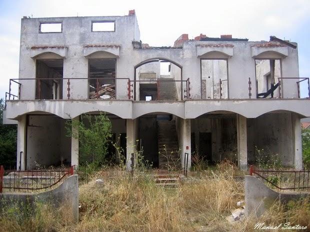 Zadar, abitazione diroccata