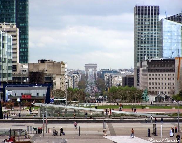 Parigi, Défense