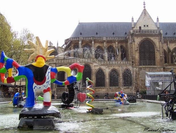 Parigi, Centre Pompidou, Fontana Stravinsky