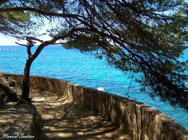 Lloret de Mar, percorso costiero