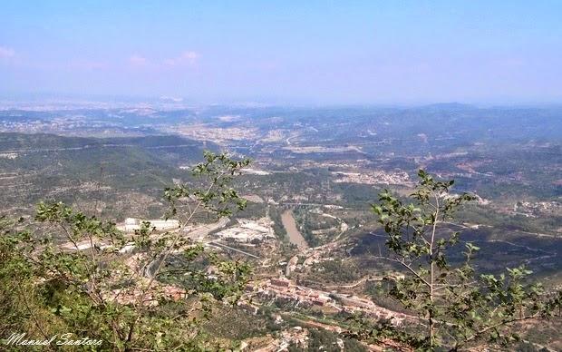 Monastero di Montserrat, vista panoramica