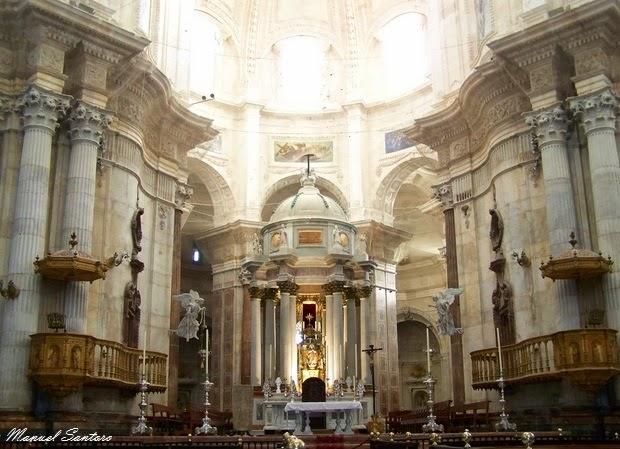 Cadice, Cattedrale Nuova, interno