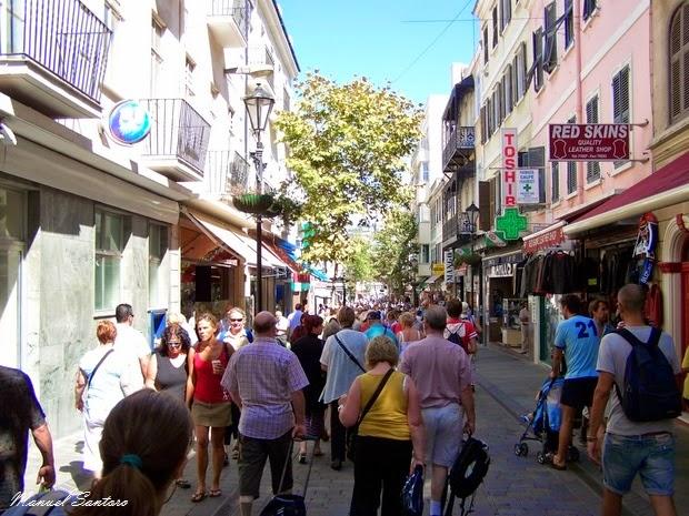 Gibilterra, centro cittadino