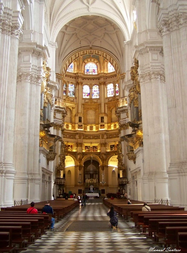 Granada, Cattedrale, interno