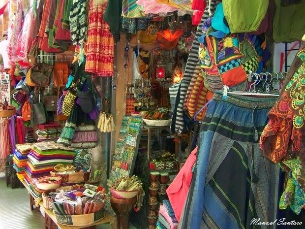 Granada, pittoresco mercato