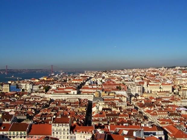 Lisbona, veduta panoramica