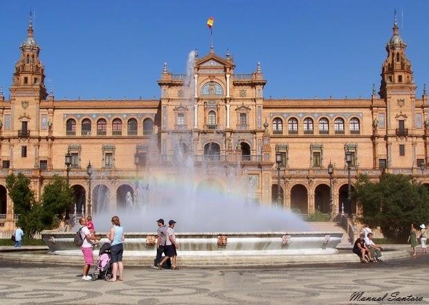 Siviglia, Plaza de Espana