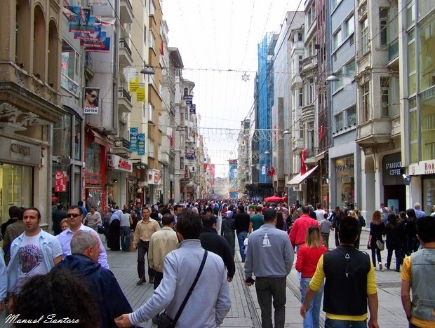 Istanbul, Istiklal Caddesi