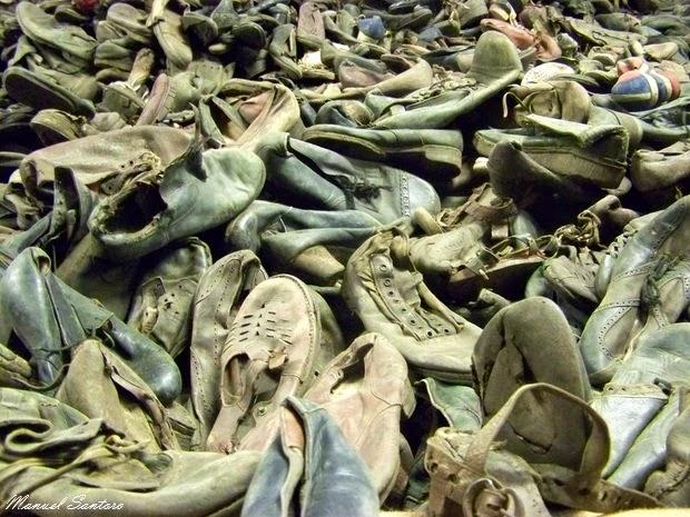 Auschwitz, oggetti