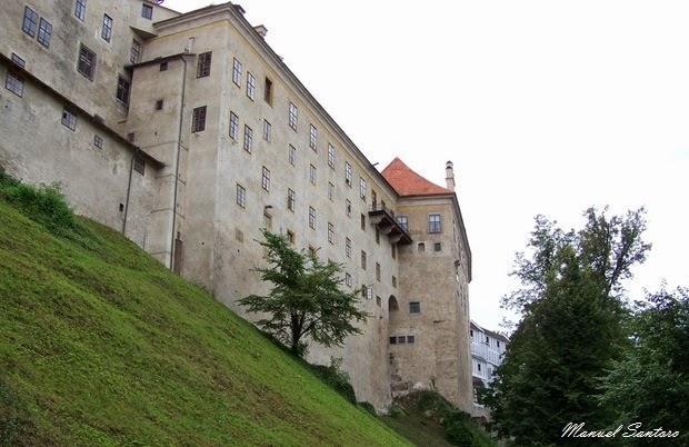 Cesky Krumlov, castello