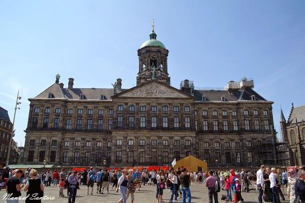 Amsterdam, Piazza Dam, Palazzo Reale