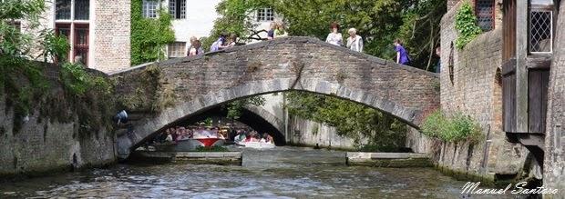 Bruges, visita in battello