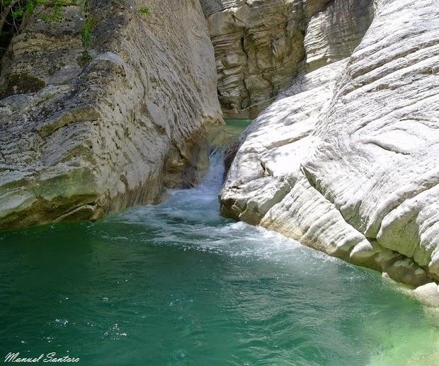 Gole del Salinello, Cascata del Caccamo