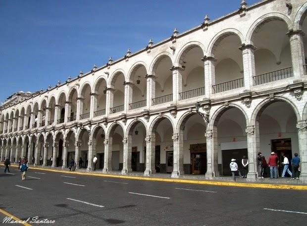Arequipa, Plaza de Armas