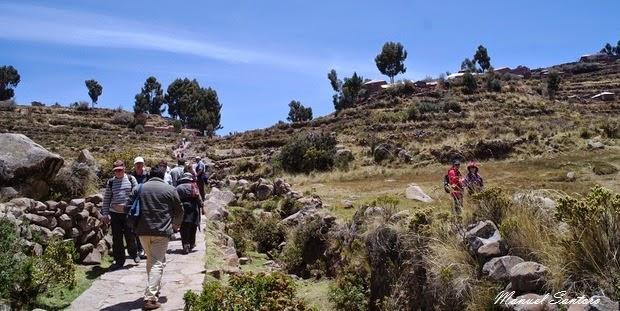 Lago Titicaca, Isla Taquile