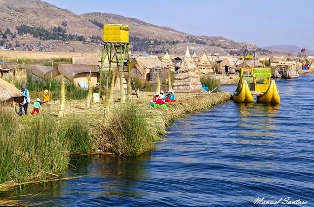 Lago Titicaca, Isla Uros