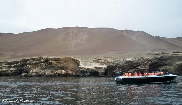 Reserva Nacional de Paracas, Candelabro