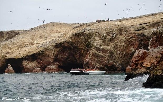 Reserva Nacional de Paracas, Islas Ballestas