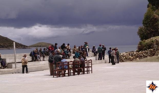 Isla del Sol, versante nord. Cha'llapampa