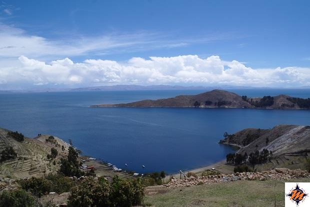 Isla del Sol, versante sud. Yumani