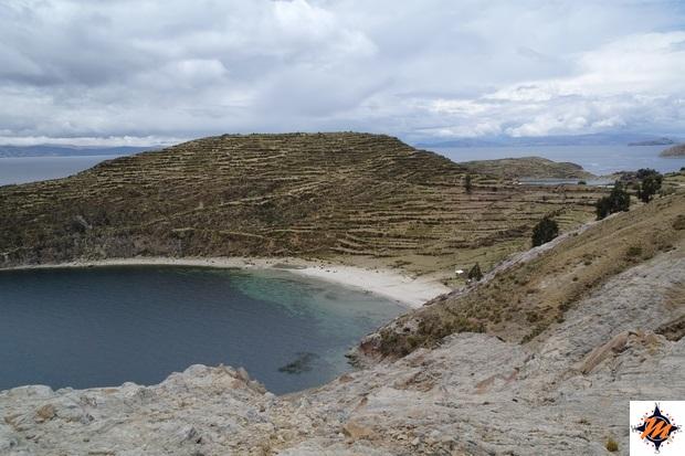 Isla del Sol, versante nord