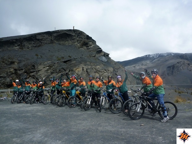 Carretera de la Muerte, La Cumbre