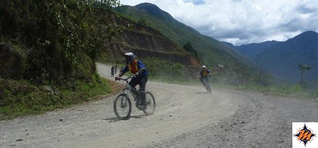 Carretera de la Muerte, nei pressi di Yolosa