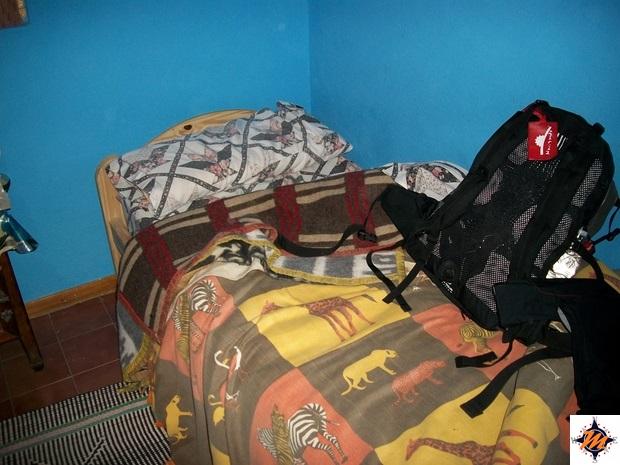 Perito Moreno. Hotel Santa Cruz
