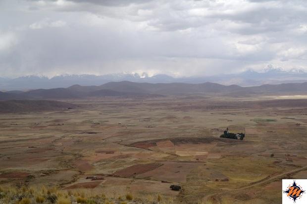 Punto panoramico tra Tiwanaku e La Paz