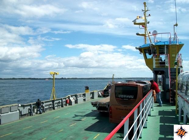 Da Bariloche a Chiloè. Traghetto tra Pargua e Chacao