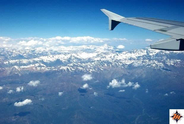 In volo verso la Patagonia