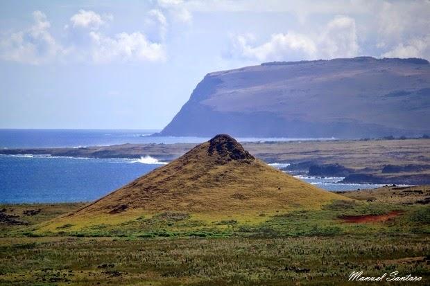 Isola di Pasqua, vista panoramica dal Rano Raraku