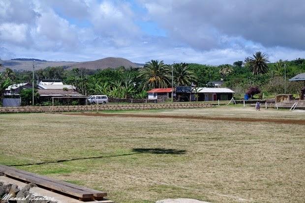 Isola di Pasqua, Hanga Roa, stadio
