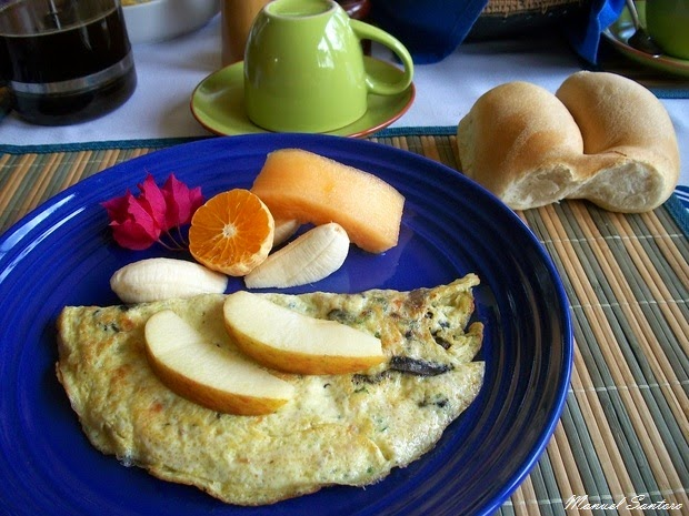 Hanga Roa, colazione al Taura'a Hotel