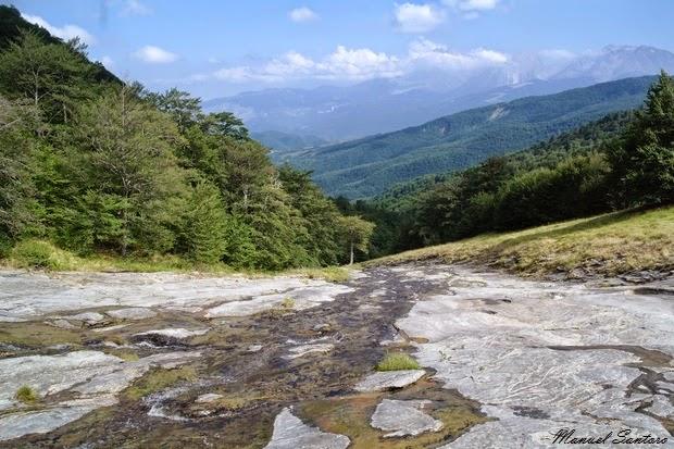 Valle delle Cento Fonti. Sorgente Mercurio