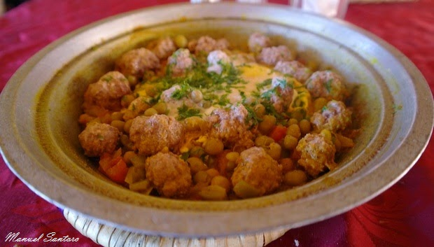 Restaurant Labaraka, Tajine kefta