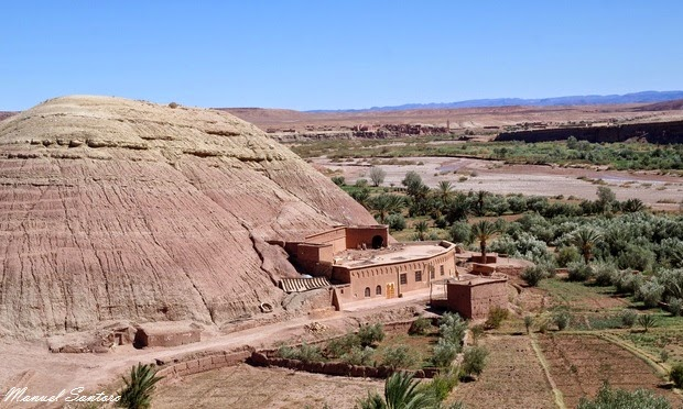 Panorama dalla Kasbah Ait Benhaddou