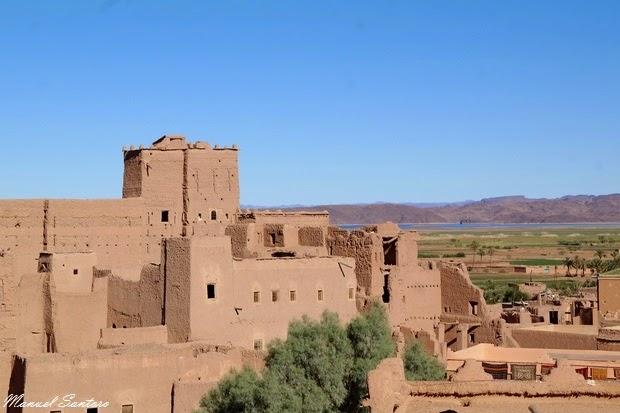 Ouarzazate, vista dalla Kasbah Taourirt