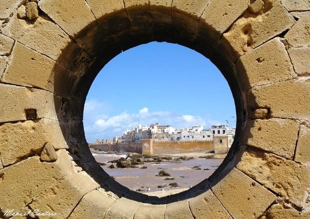 Essaouira, vista dalla Skala du Port