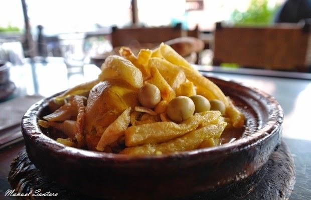 Marrakech, Tajine di pollo