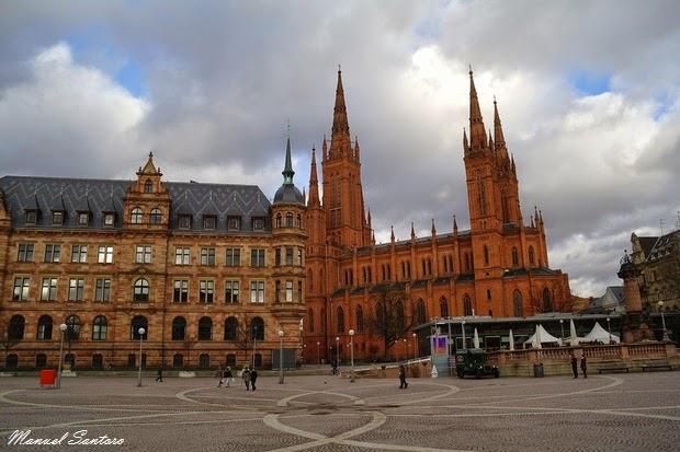 Wiesbaden, Marktkirche