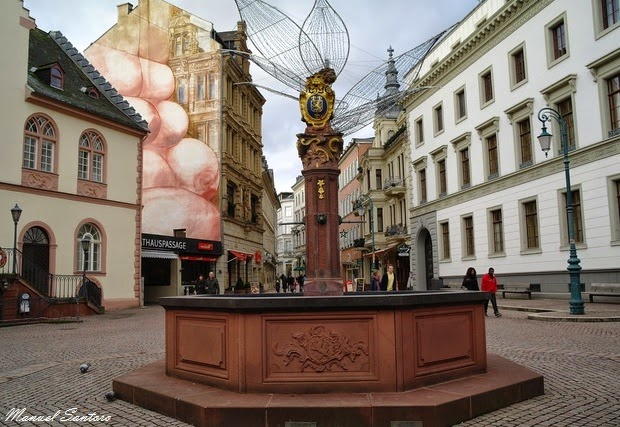 Wiesbaden, Piazza del Castello