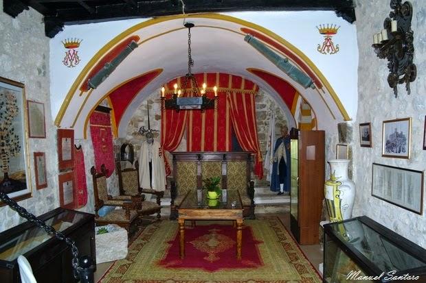 Salle Vecchia, castello, interno