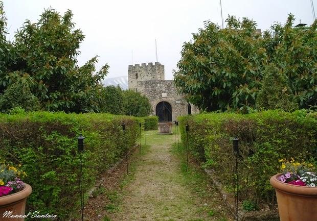 Salle Vecchia, ingresso al castello