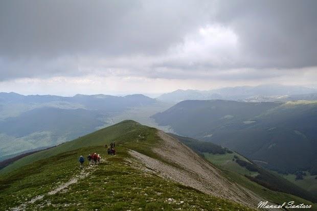 Vista panoramica dal Monte Porrara