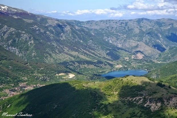 Veduta sul Lago di Scanno