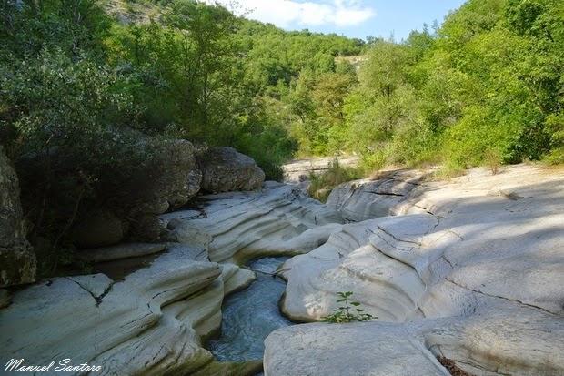 """Valle dei Luchi, """"marmitte"""""""
