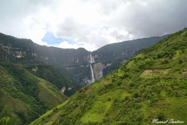 Catarata de Gocta, aumento della portata