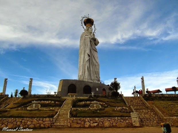 Concepcion, Estatua de la Virgen de la Inmaculata