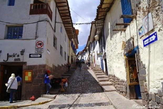 Cusco, Cuesta San Blas